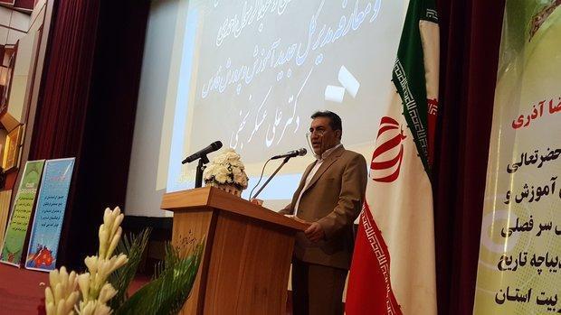 تمامی کوشش من برطرف مشکلات آموزش و پرورش فارس است