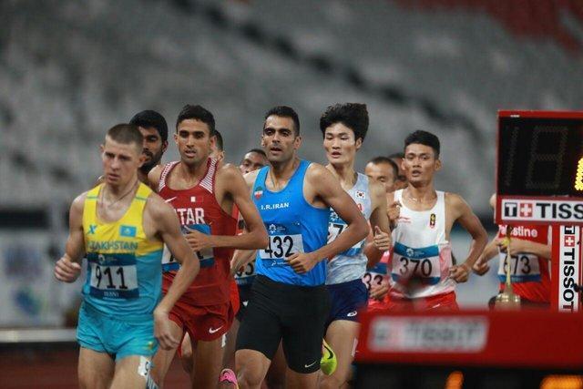 مرادی در دوی 1500 متر هم فینالیست شد