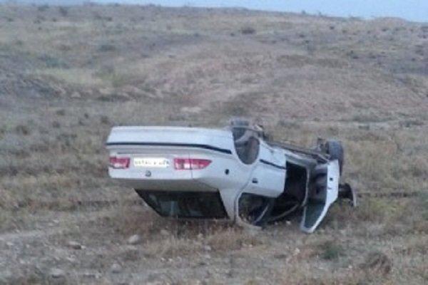 اعزام بالگرد برای واژگونی خودرو در اینچه برون، حال 3 نفر وخیم است
