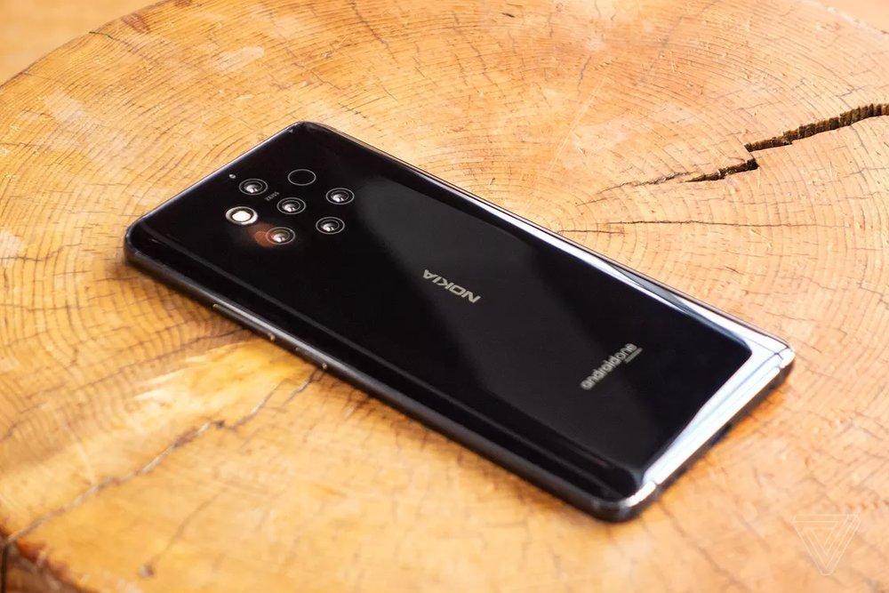 رونمایی از نوکیا 9 با 5 دوربین در پشت گوشی ، عکس
