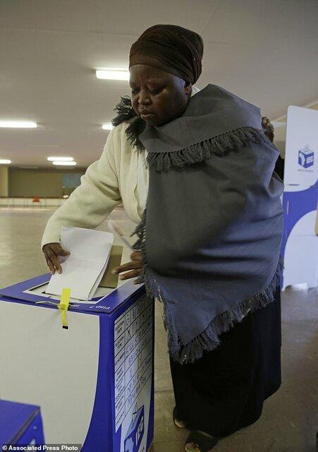 برگزاری انتخابات پارلمانی در آفریقای جنوبی