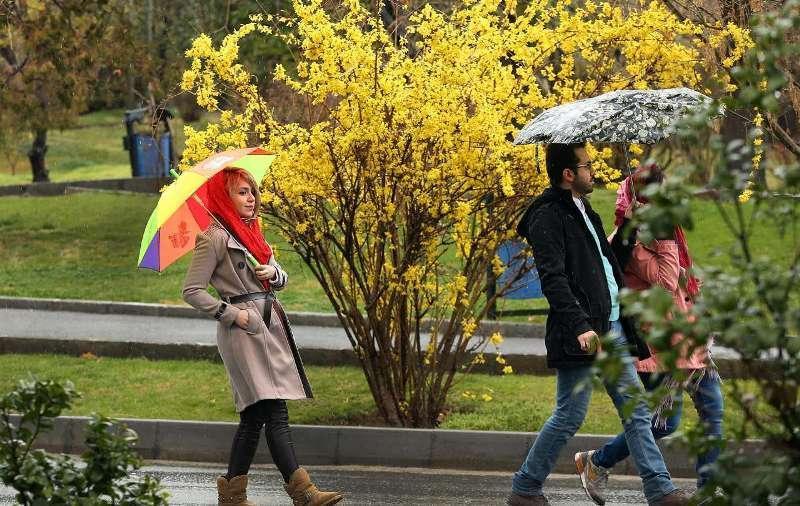 ادامه بارش های بهاری در نقاط مختلف کشور