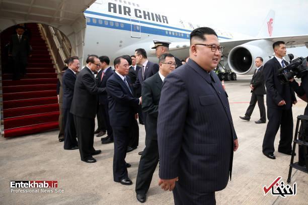 تصاویر : ورود رهبر کره شمالی به سنگاپور