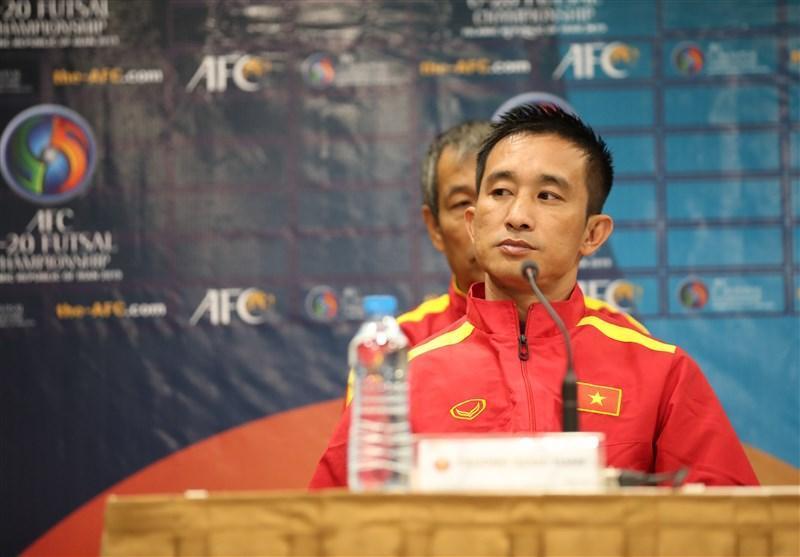 فوتسال قهرمانی زیر 20 سال، سرمربی ویتنام: برای کسب تجربه به مسابقات آمده ایم