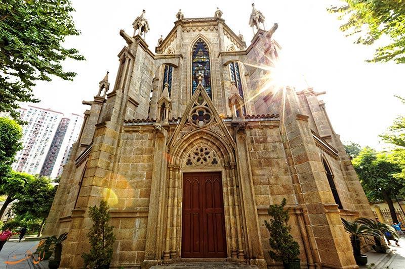 تماشای معماری گوتیک در کلیسای جامع قلب مقدس گوانگجو!