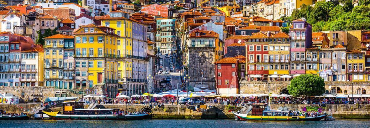 بهترین مقصد گردشگری اروپا در سال 2017 │ تصویری از شهر رنگارنگ پرتغال
