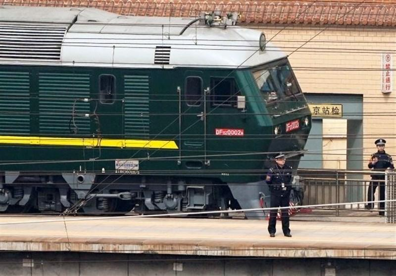 حرکت رهبر کره شمالی با قطار زرهی از قلب چین