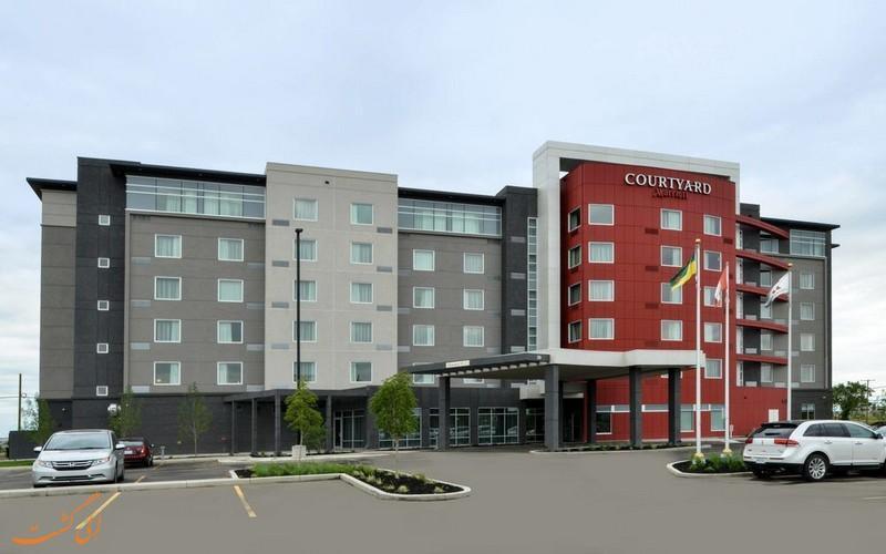معرفی هتل کورتیارد مریوت ایرپورت ساسکاتون ، 3 ستاره