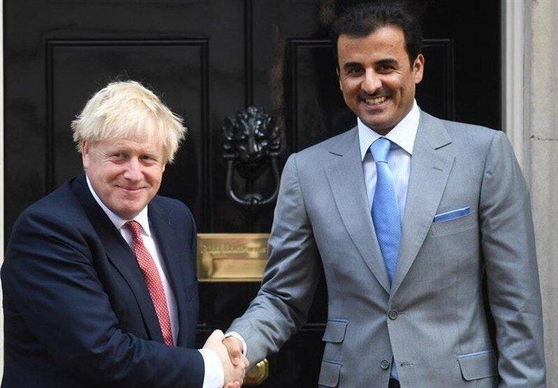 نبض اقتصاد سعودی، سوژه بحث جانسون و امیر قطر