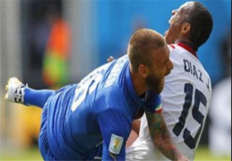 احتمال غیبت دروسی در بازی ایتالیا مقابل اروگوئه