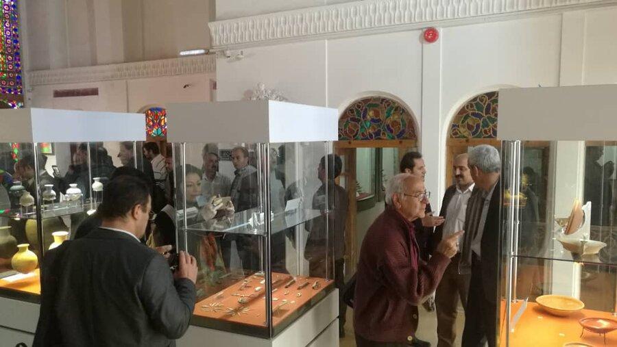 تصاویر یافته های باستان شناسی عصر آهن غرب ایران در سنندج
