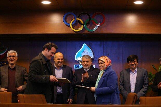 معرفی دو ورزشکار المپیکی به عنوان سفیران محیط زیست