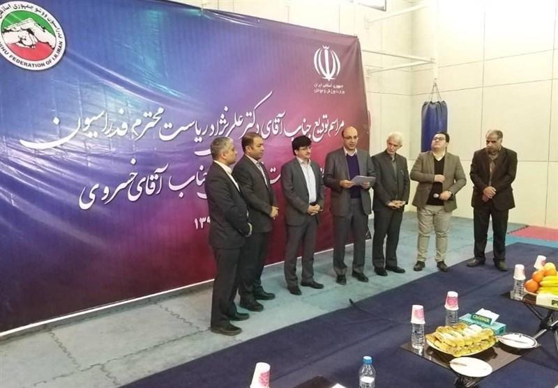 مراسم تودیع رئیس پیشین فدراسیون ووشو برگزار گردید، علی نژاد: ووشو با خون جگر به اینجا رسید