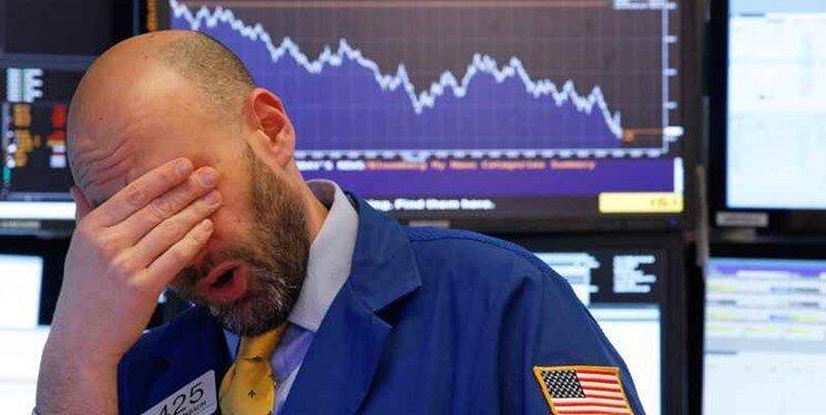 سقوط شدید بورس وال استریت برای سومین بار در 6 روز گذشته