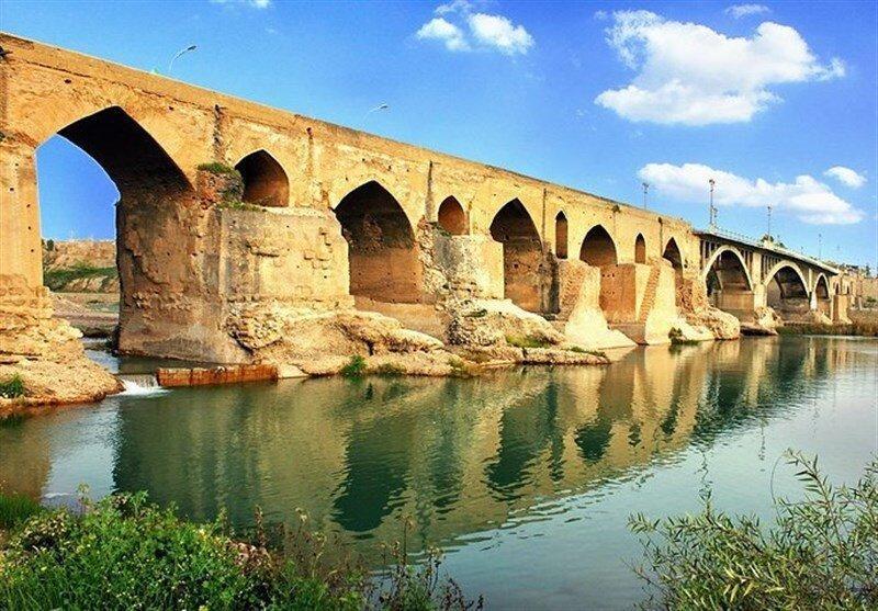 آخرین شرایط بازسازی پل تاریخی دزفول ، طاق های پل نیازمند بازسازی اساسی است