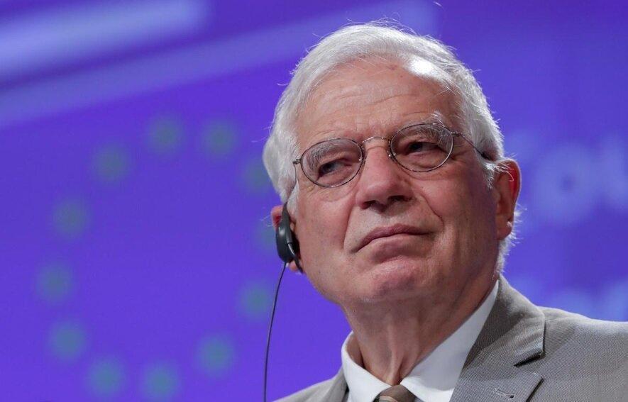 موضع گیری بورل نسبت به تحریم تسلیحاتی ایران