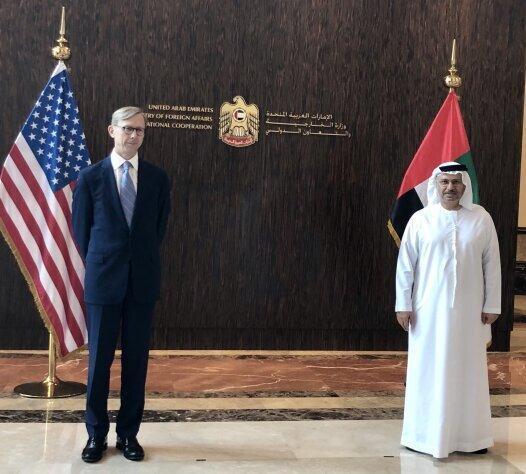 هوک در آستانه نشست شورای امنیت درباره ایران به سراغ امارات رفت