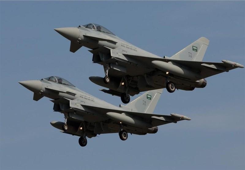 حمله جنگنده های سعودی به الجوف