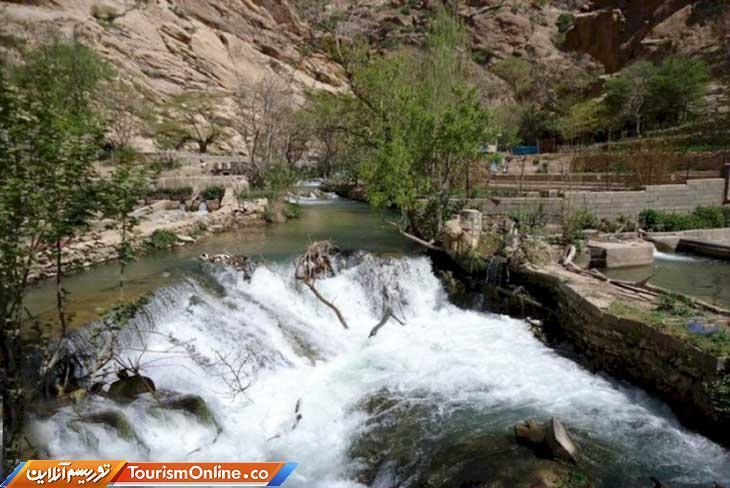 تکمیل زیرساخت های گردشگری سراب کنار به آبشار ریجاب در سرپل ذهاب