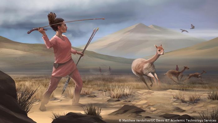 زنانِ دورانِ نو سنگی شکارچی بودند