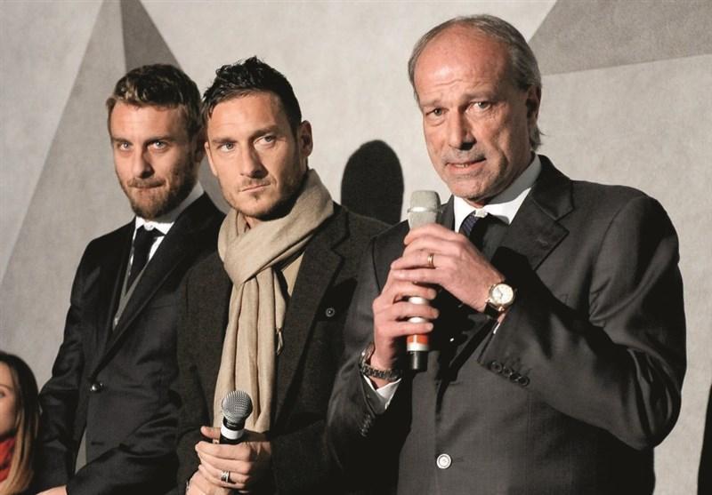 عذرخواهی مدیر ورزشی سابق باشگاه رم از توتی بابت توصیه به بازنشستگی