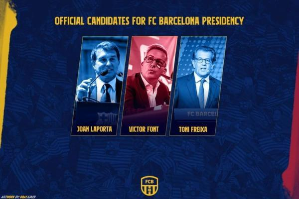 انتخابات بارسلونا به تعویق افتاد