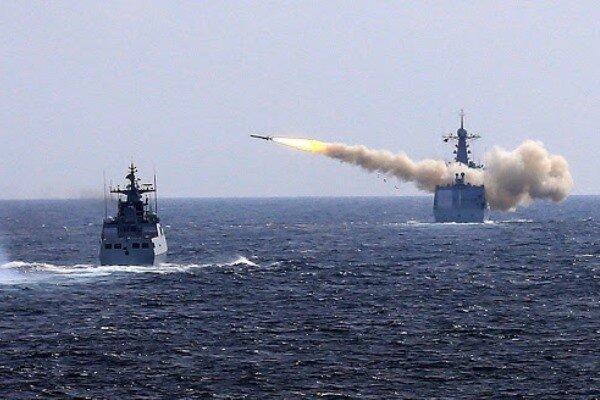 چین در دریای چین جنوبی رزمایش برگزار می نماید