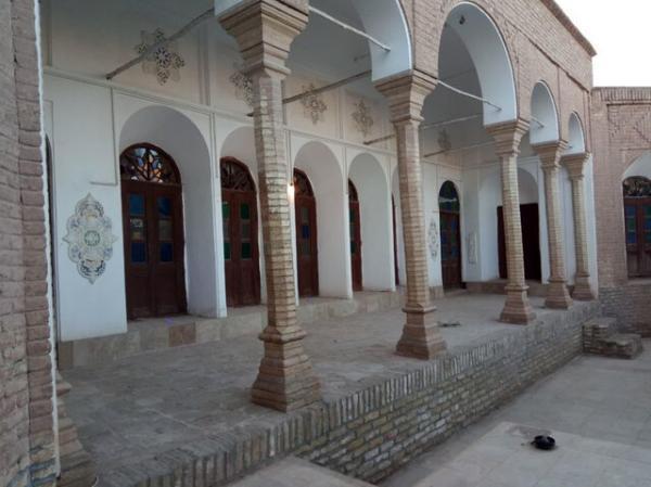عملیات مرمتی خانه دینیار کرمان شروع شد