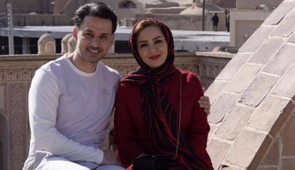 (تصاویر) مبینا نصیری و مهدی توتونچی از مجریان تلویزیون ازدواج کردند