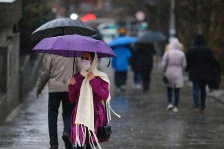 تداوم بارش ها در کشور ، بارش شدید در 6 استان