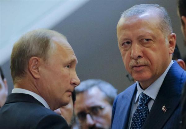 پوتین و اردوغان درباره اوکراین تبادل نظر کردند