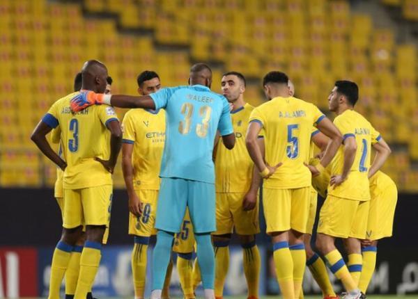 درگیری در رختکن تیم فوتبال النصر عربستان در بازی با الوحدات