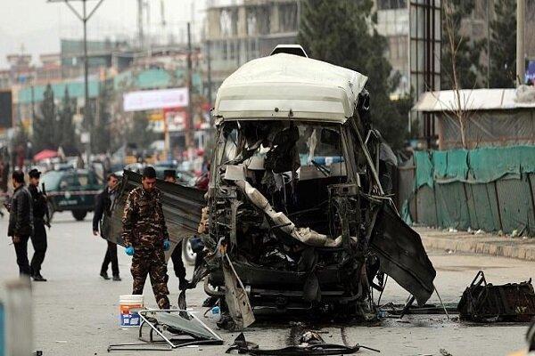 انفجار خودرو بمب گذاری شده مقابل مقر پلیس در بغلان افغانستان