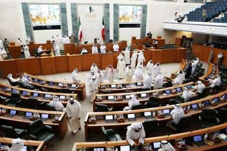 درگیری فیزیکی 2 نماینده در مجلس کویت