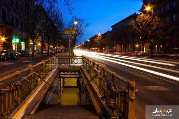تاریخچه ا ی کوتاه از خیابان معروف آندراس در بوداپست، عکس