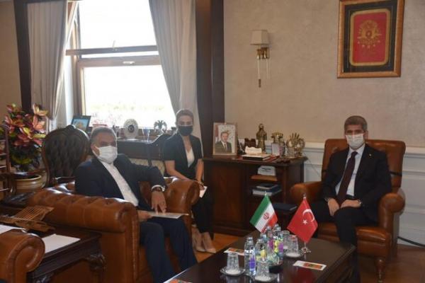 رایزنی سفیر ایران با معاون وزیر کشور ترکیه در خصوص همکاری های امنیتی دوجانبه
