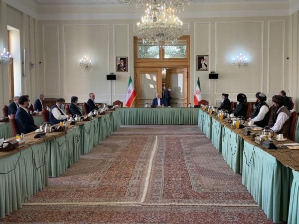شروع اجلاس گفتگوهای بین الافغانی در ایران با حضور ظریف