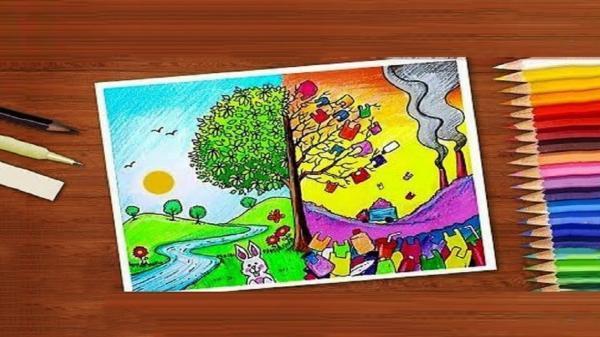 پلیس فتا برای دانش آموزان مسابقه نقاشی برگزار می نماید