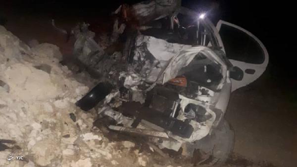 تصادف مرگبار در محور بوئین زهرا