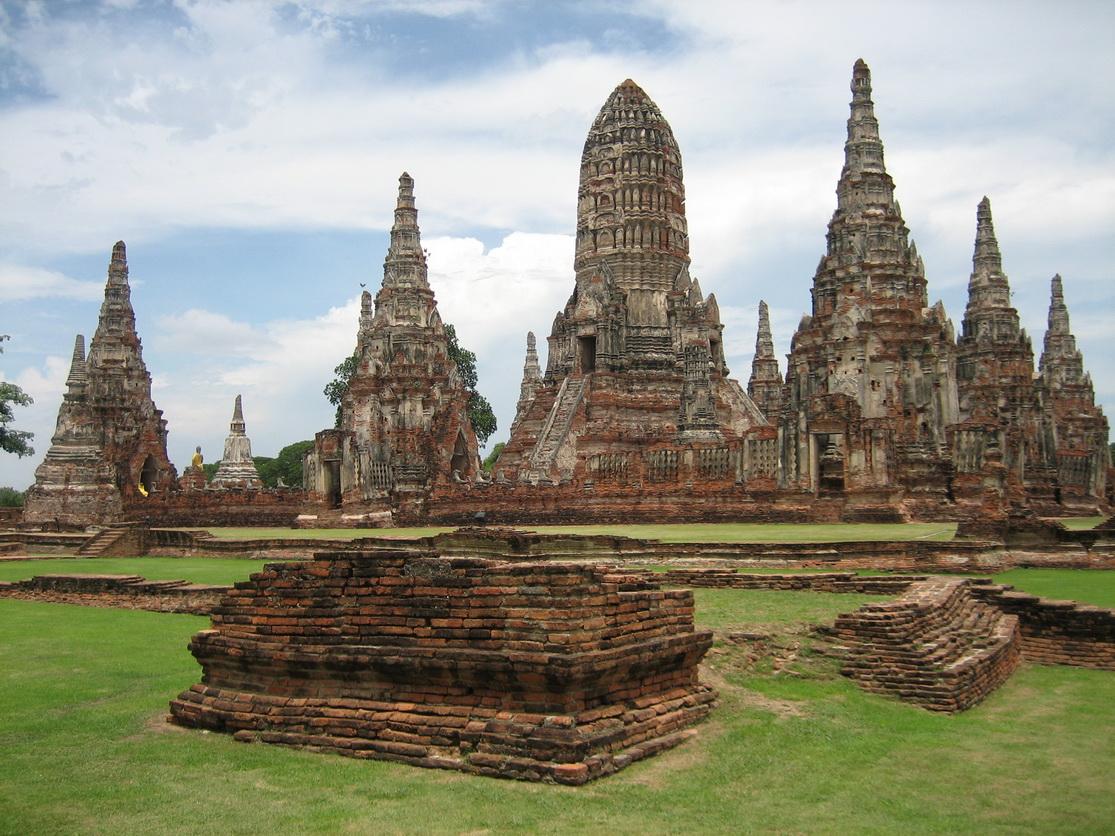 معبد چای واتانارام (Wat Chai watthanaram) آیوتهایا تایلند