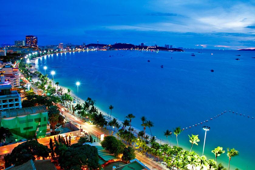 مراکز خرید ساحل پاتایا تایلند